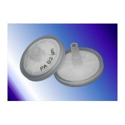Spritzenfilter Q-Max RR Nylon Ø 25 mm 0,45 µm VE 100 Stck.
