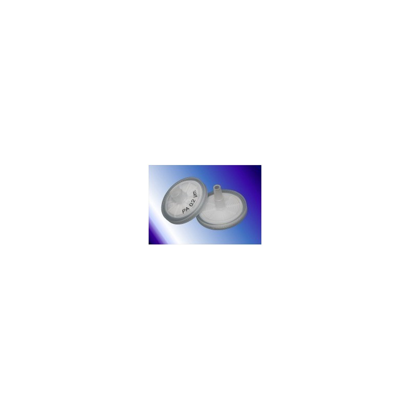 Filtr strzykawkowy Q-Max RR Nylon Ø 25 mm 0,45 µm op. 100 szt.