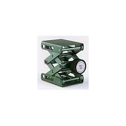 Laborhebebühne Swiss Boy 100 50x40 mm 31…93 mm grün Al eloxiert