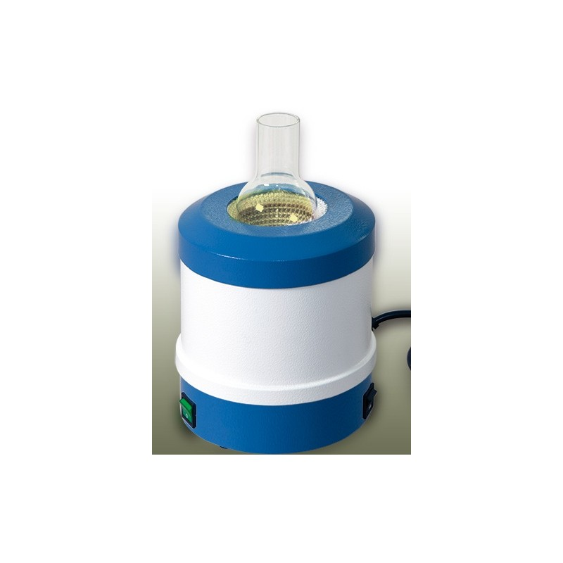 Metal-cased heating mantles for round bottom flasks 50 ml 450°C