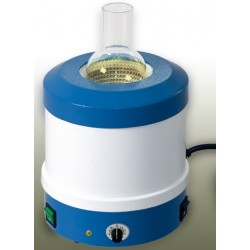 Metal-cased heating mantles for round bottom flasks 500 ml 200W