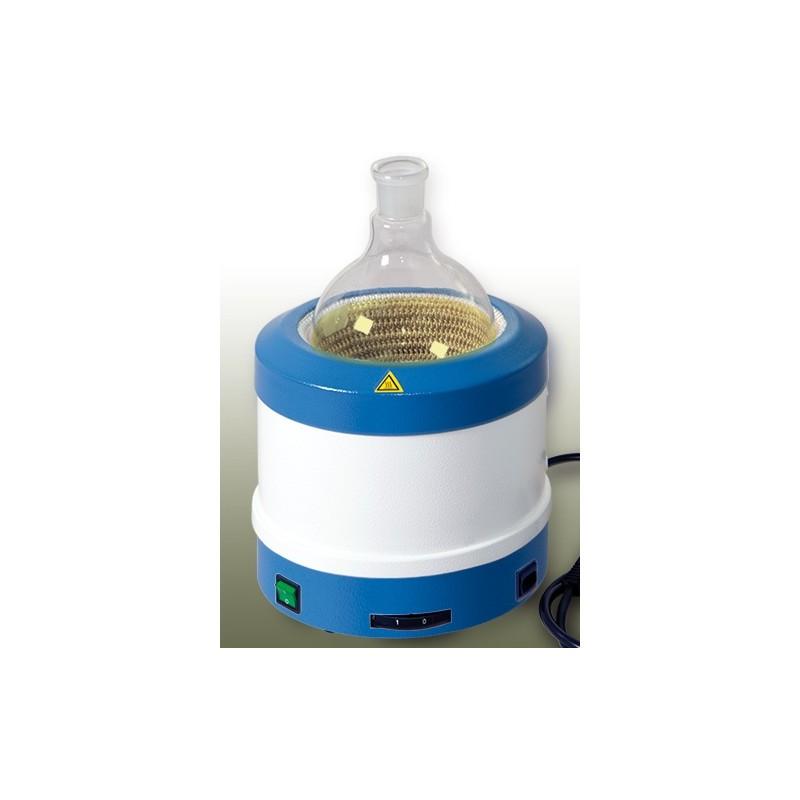 Metal-cased heating mantle 50...250 ml 450°C 160W 230V 3