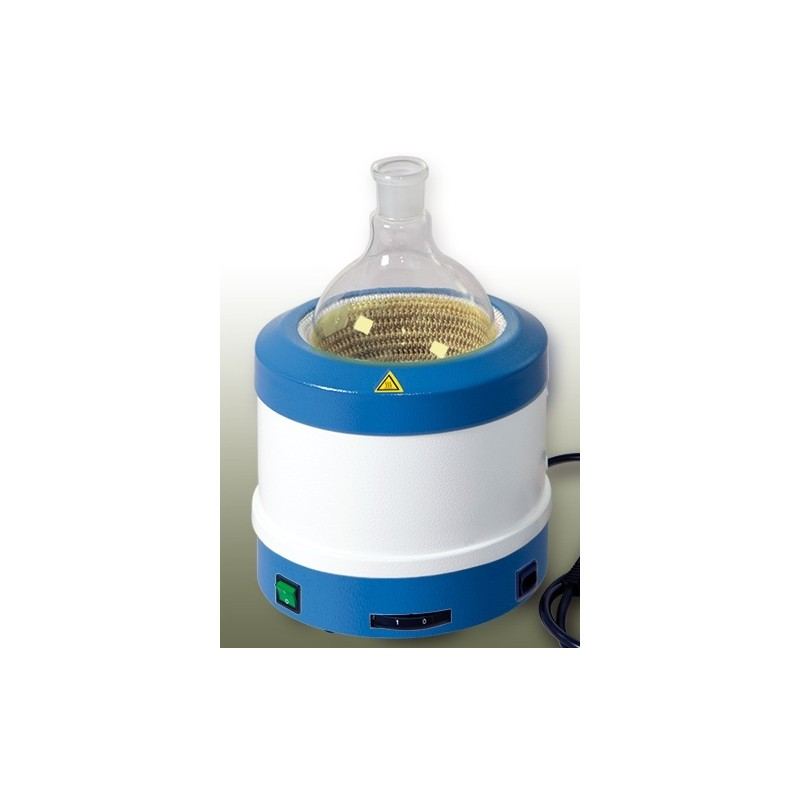 Metal-cased heating mantle 1…3L 450°C 700W 230V 3 heating zones