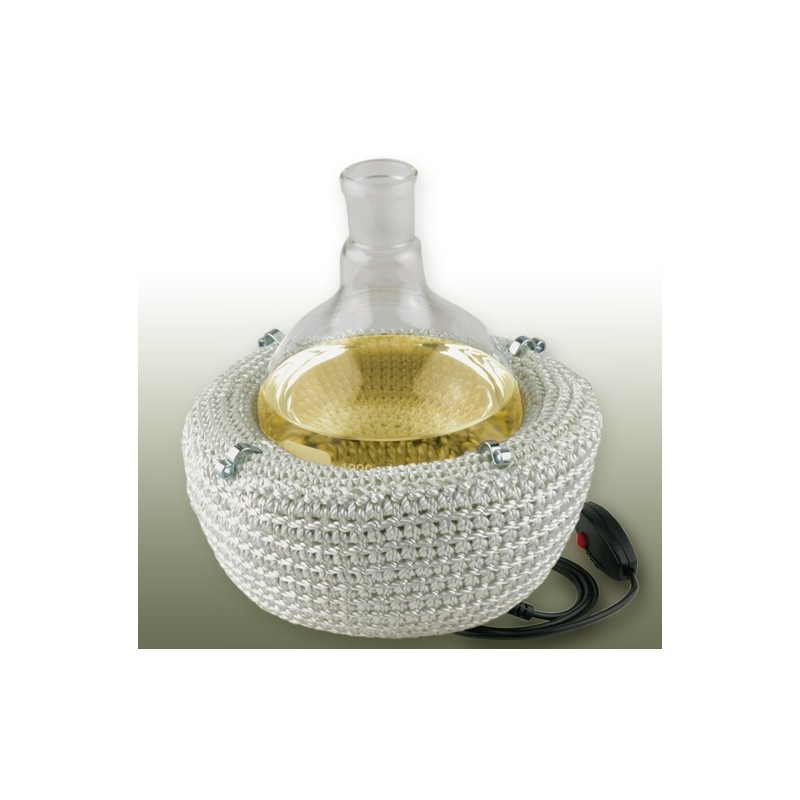 Heizhaube für Rundkolben 250 ml 450°C 230V 2 Heizzonen