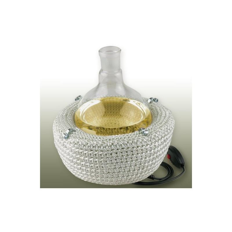 Heizhaube für Rundkolben 500 ml 450°C 230V 2 Heizzonen