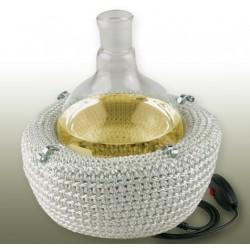 Heating mantles for round bottom flasks 2L 450°C 230V 2 heating