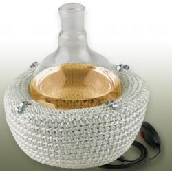 Heizhaube KM-GH für Rundkolben 1L 900°C 750W 230V 2 Heizzonen