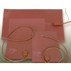 Mata grzejna ze silikonu KM-SM A4 (297x210 mm) 200 W 230 V