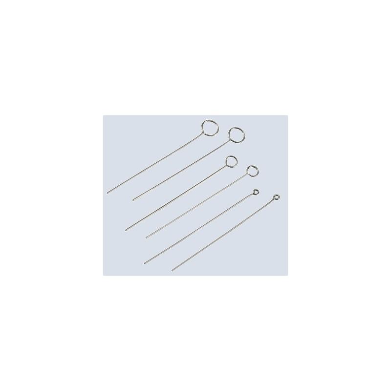 Inoculating loop stainless steel length 50 mm Ø 4 mm pack 10