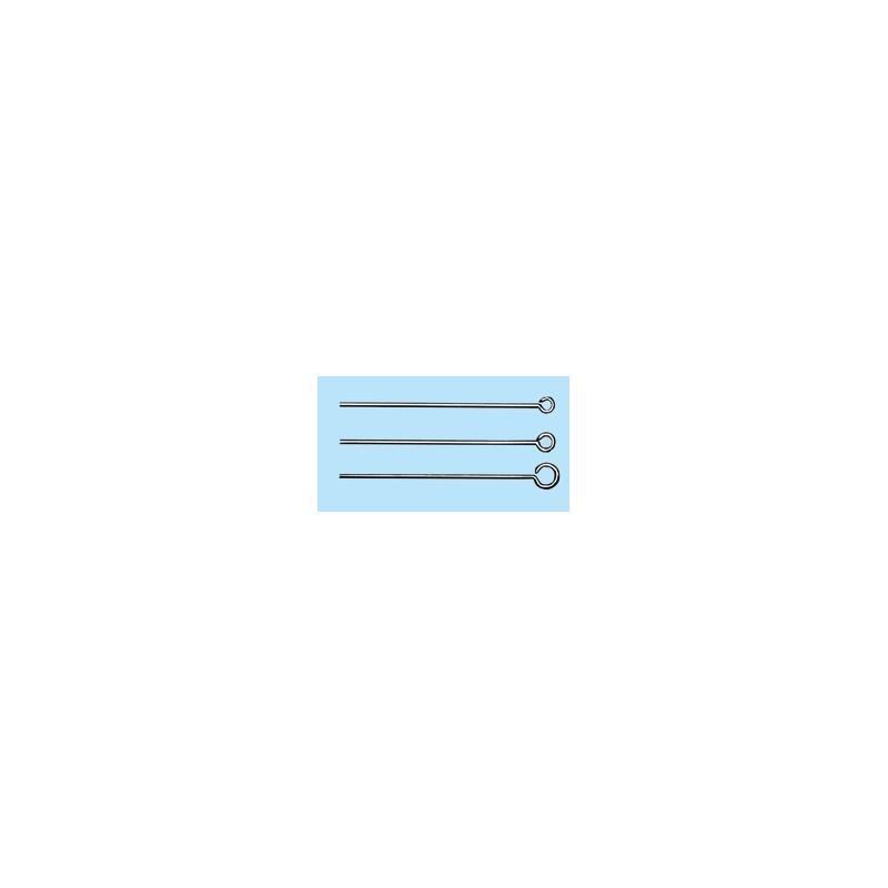 Inoculating loop stainless steel length 75 mm Ø 4,5 mm pack 10