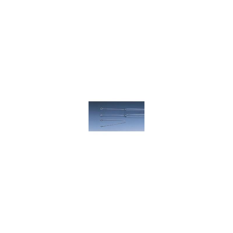 Eza platyna-iryd 90%-19% zatopiona w sztabce szklanej grubość