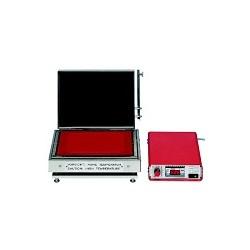 Hochtemperatur-Heizplatte aus TITAN bis 600°C ohne Regler mit