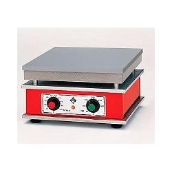 Heizplatte mit stufenloser Temperaturregelung bis ca. 370°C