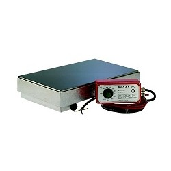 Heating platform CERAN® separate contr. sockets f. 4 rods
