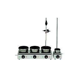 Serien-Heizplatte Ø150 mm jede Heizstelle einzeln stufenlos