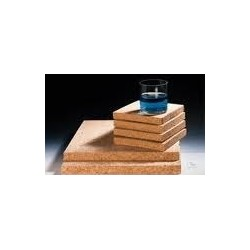 Cork plates square form 175x175 mm 15 mm thick pack 10 pcs.