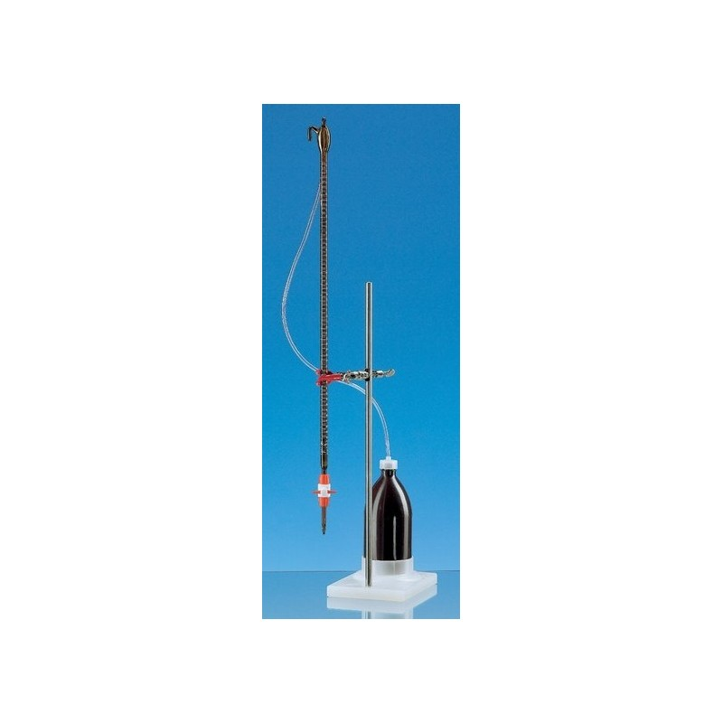 Compact automatic burette brown 50:0,1 ml Class B with