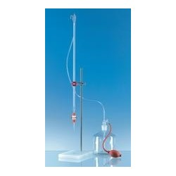 Compact automatic burette 50:0,1 ml class AS Schellbach with