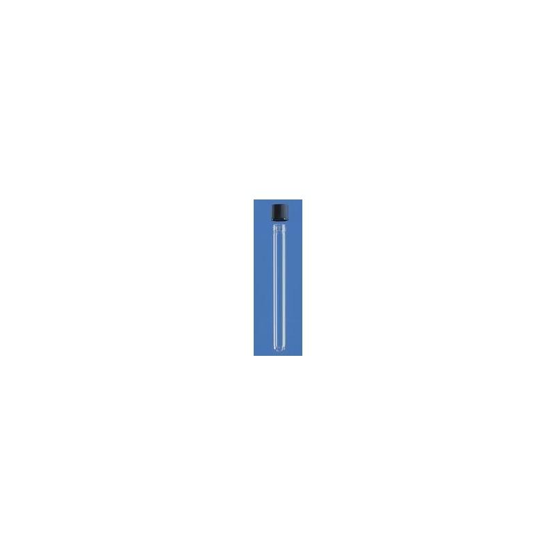 Probówka mikrobiologiczna 12x100 mm szkło sodowe zakrętka z PP