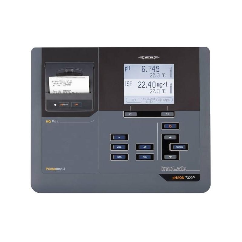 Benchtop meter inoLab pH/ION 7320 BNC