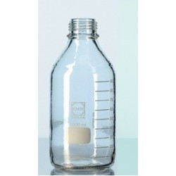 Reagent bottle 500 ml narrow neck Duran protect without srew