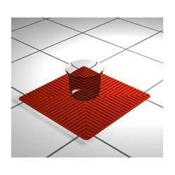 Laborunterlage Silikon rot 250 x 250 mm