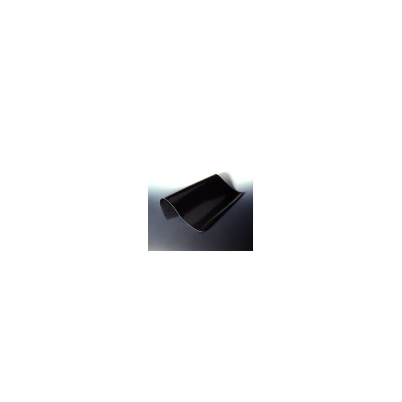 Platte aus Fluorkautschuk schwarz 200x200 mm Stärke 1 mm