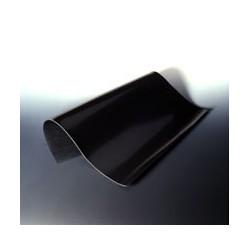 Platte aus Fluorkautschuk schwarz 300x300 mm Stärke 3 mm