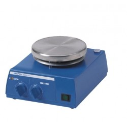 Magnetic stirre with heating RH basic 2 stainless steel heating