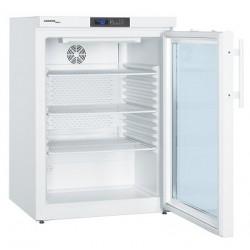 Chłodziarka do leków MkUv 1613 +5°C wg. DIN 58345 drzwi szklane