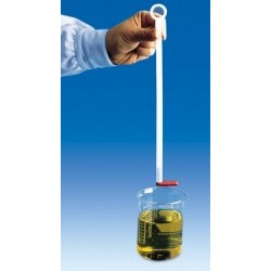 Pręt do usuwania mieszadełek magnetycznych PE długość 450 mm
