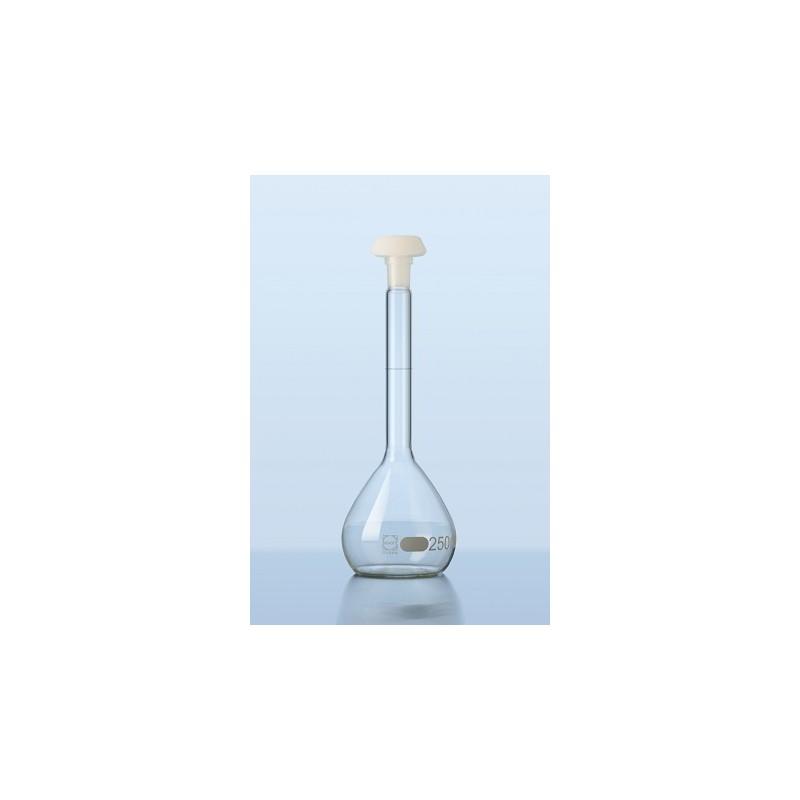Volumetric flask 1000 ml Duran class B stopper PE NS 24/29 pack