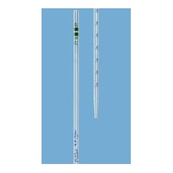 Graduated pipette 0,2:0,002 ml class A AR-glass blue graduation
