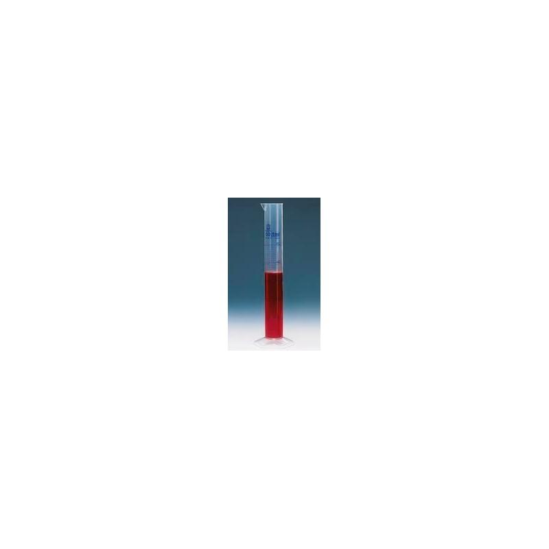 Messzylinder PP 100 ml hohe Form blaue Graduierung