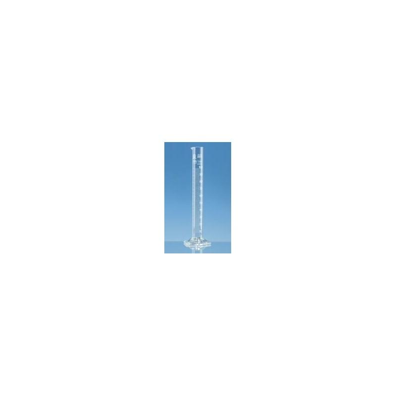 Cylinder miarowy 100 ml boro 3.3 forma wysoka klasa B biała