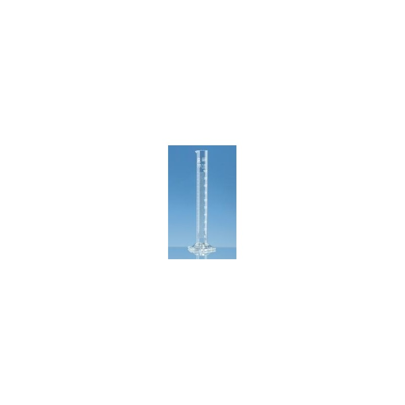 Messzylinder 100 ml Boro 3.3 hohe Form Klasse B Strichteilung