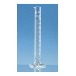 Cylinder miarowy 250 ml boro 3.3 forma wysoka klasa B biała