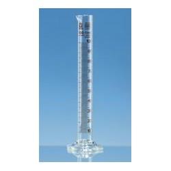 Messzylinder 5 ml Boro 3.3 hohe Form Klasse B braun graduiert