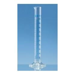 Messzylinder 10:0,2 ml Klasse A hohe Form Boro 3.3 KB blau