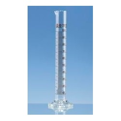 Messzylinder 100:1 ml Klasse A hohe Form Boro 3.3 KB braun