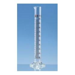 Messzylinder 250:2 ml Klasse A hohe Form Boro 3.3 KB braun