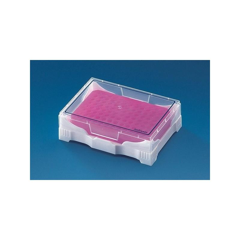 PCR Mini cooler for 0,2 ml singel tubes 8 12-strips 96-well PCR