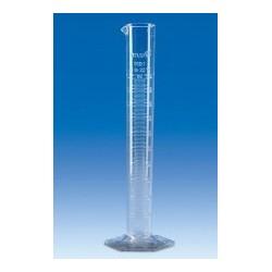 Cylinder miarowy SAN 250 ml forma wysoka skala wytłoczona op. 6