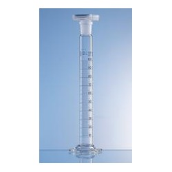 Mixing cylinder 100 ml Boro 3.3 class A CC NS 24/29 PP-stopper