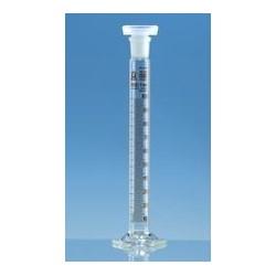 Mischzylinder 50 ml Boro 3.3 Klasse B NS 19/26 braun graduiert