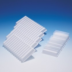 12-Slide holder Polystyserne for slides 76x26 mm B 86 xL 178xH