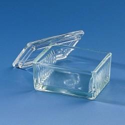Färbetrog Typ Schiefferdecker Natron-Kalk-Glas für 10