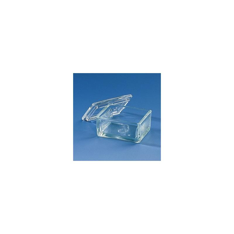 Pojemnik do farbowania preparatów szkło sodowe typ