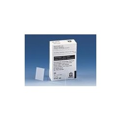 Microscope slides half white thickness approx. 1 mm approx.