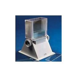 Dozownik szkiełek mikroskopowych ABS 50 szkiełek 50x76 mm biały